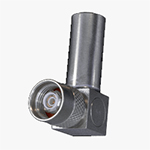 TTM Plug, Full Crimp, Right Angle, Threaded, for M17/176-00002 cable
